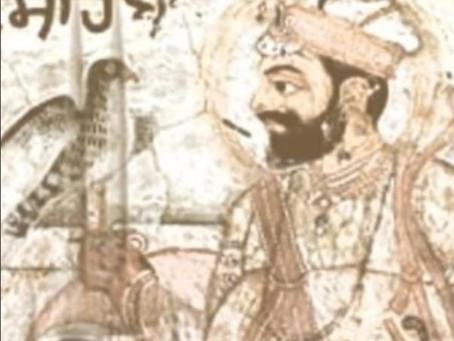 Guru Hargobind's Last Teachings to Guru Har Rai - Suraj Prakash (1843) 