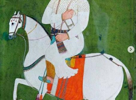 Commissioned Painting of Guru Hargobind