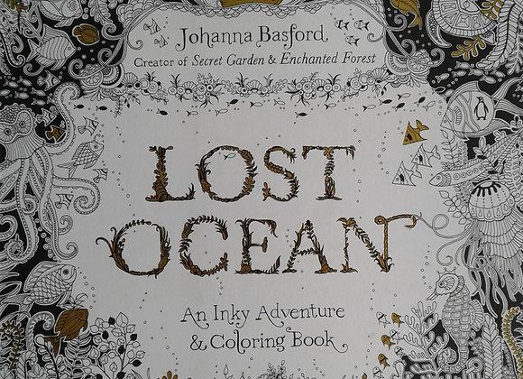Lost Ocean - coloring book