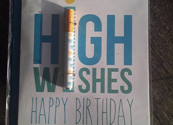 High Wishes Birthday Card