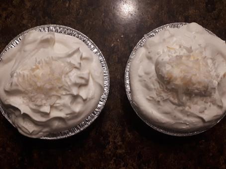 Coconut CannaCream Pie