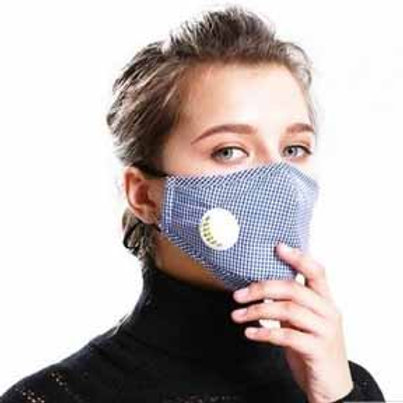 Adult Washable Cotton Carbon-Filtered Mask