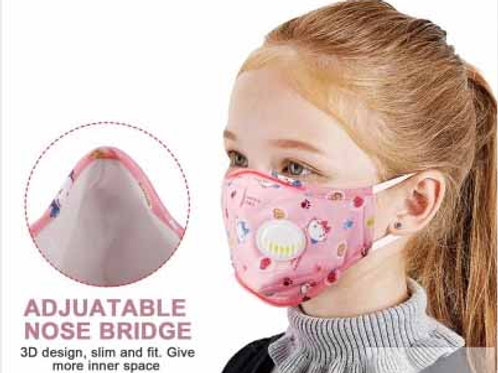 Children's Washable Cotton Carbon-Filtered Mask