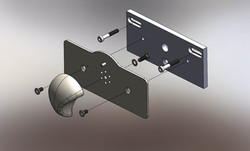 Meal TRAY LATCH ASSY