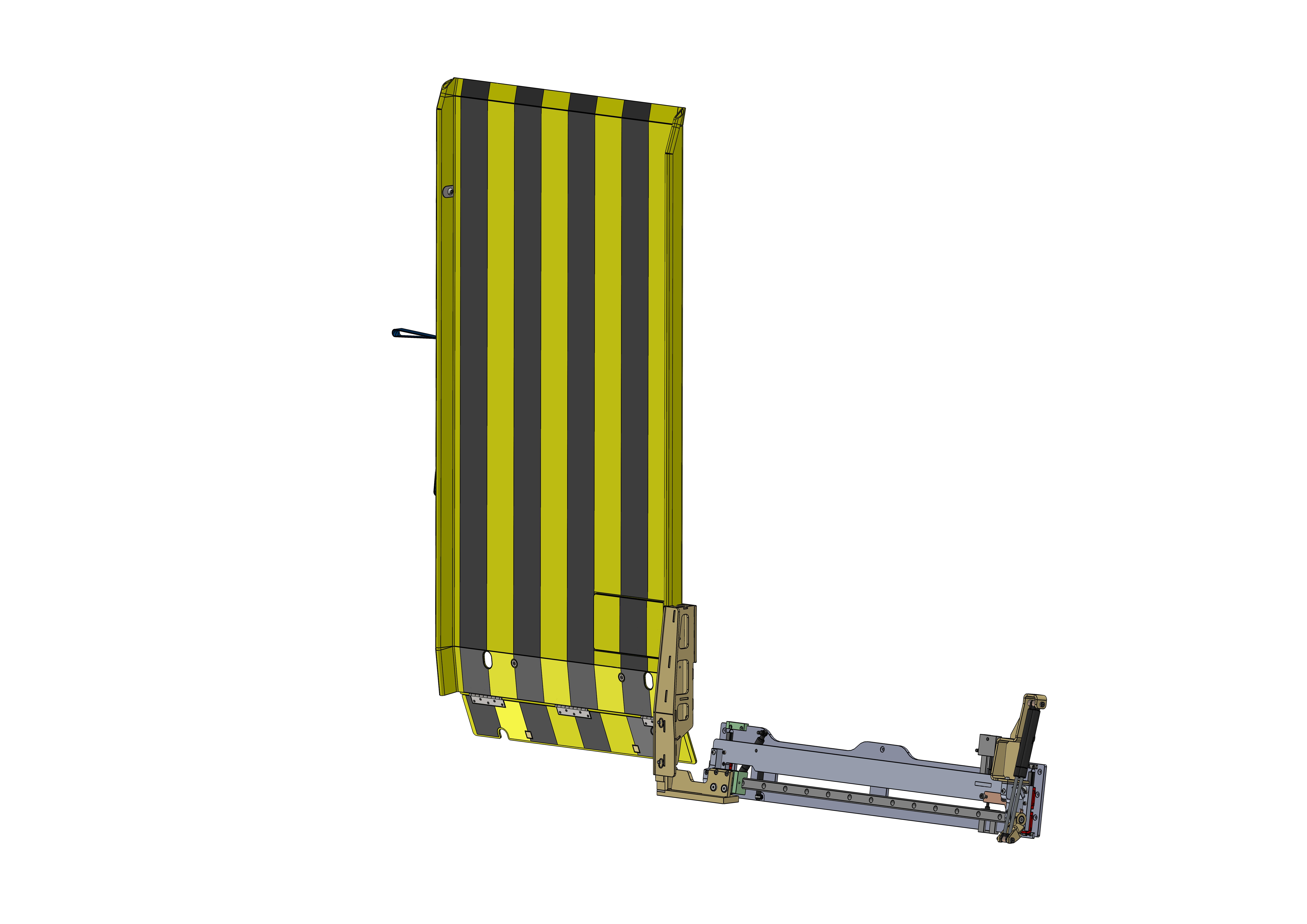 SEMI-AUTOmatic wheelchair RAMP