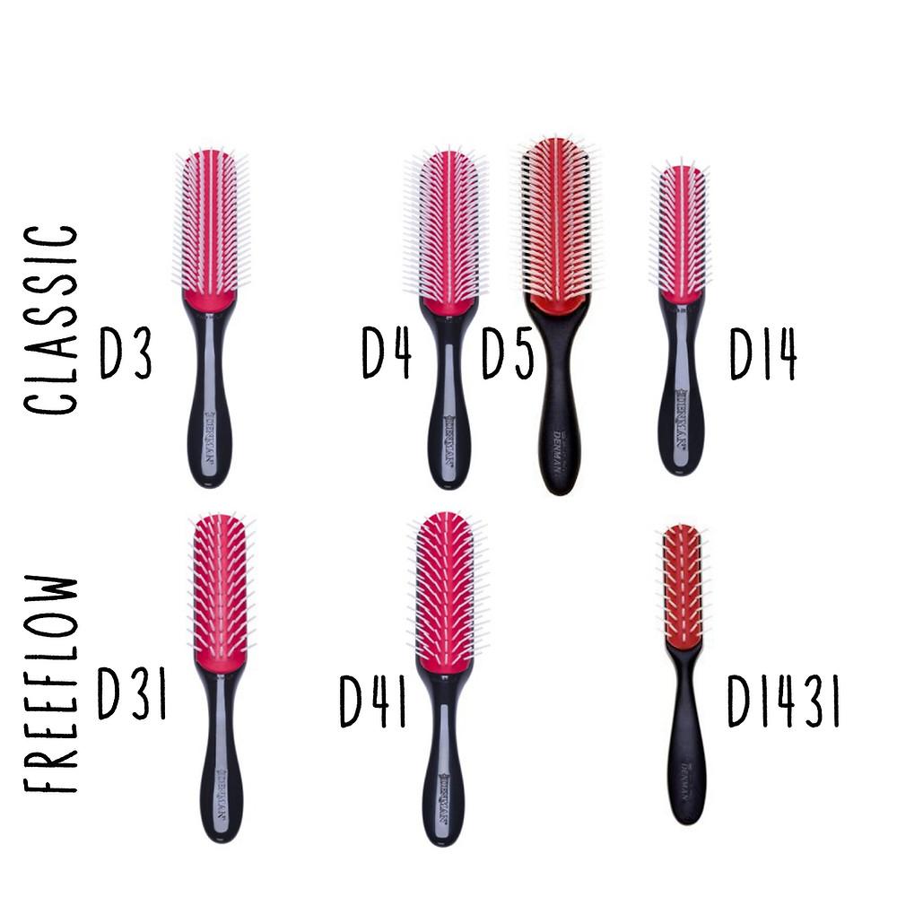 как выбрать расческу Denman brush