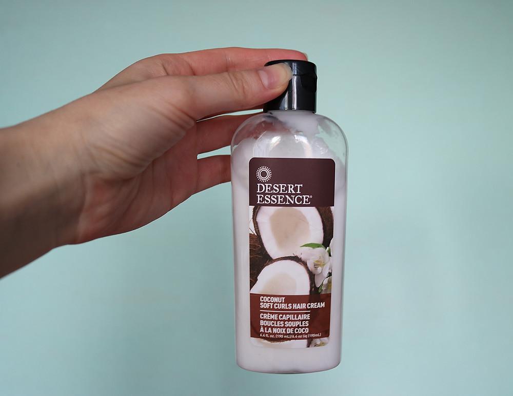 Крем Desert Essence Soft Curls Hair Cream с кокосом