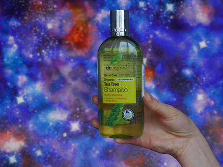 Шампунь бессульфатный Dr. Organic «Tea Tree»