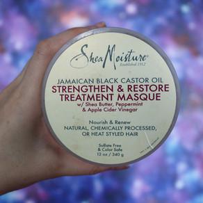 Отзыв на маску Shea Moisture JAMAICAN BLACK CASTOR OIL STRENGTHEN & RESTORE TREATMENT MASQUE