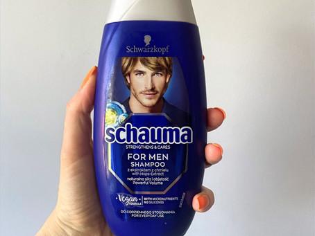 Шампунь для нормальной и жирной кожи головы Schauma для мужчин с хмелем