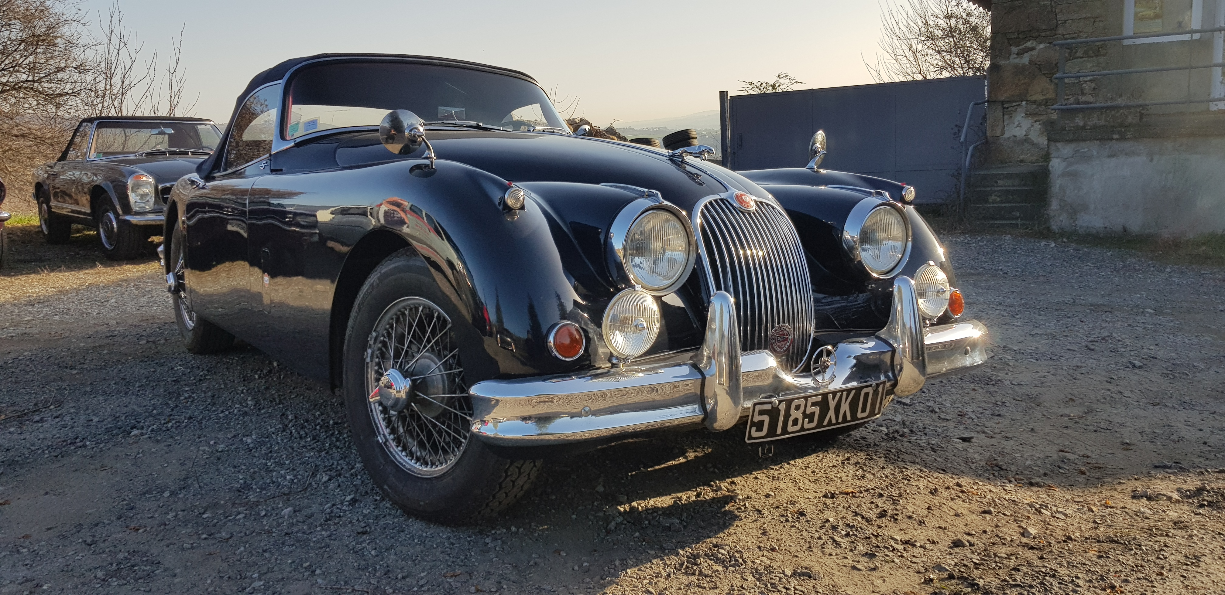 Jaguar Roadster XK 150 S