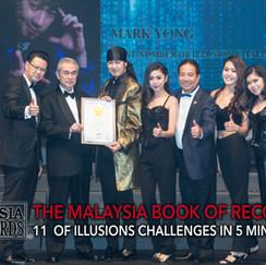 book of record mark yong malaysia magici