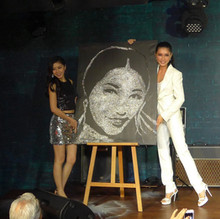 Amber Chia Speed glitter painting.JPG