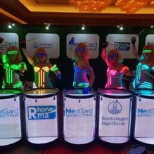 Led visual Drum Vivas magic Malaysia Dru