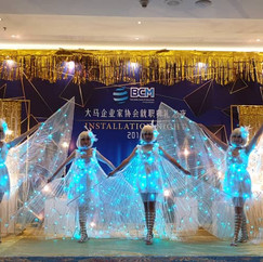 Led Butterfly Dance Malaysia Vivas magic