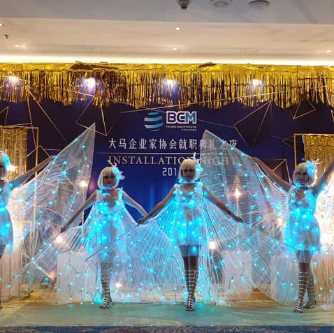 Led Butterfly Dance Malaysia Vivas magic