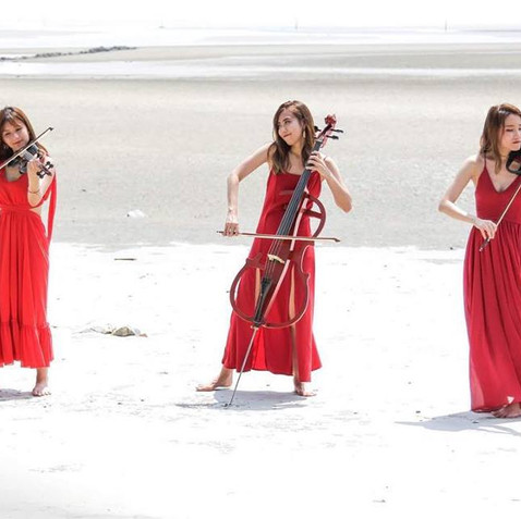 Elements - Electric string trio ( beach