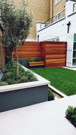 contemporary modern garden design london