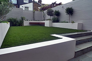 Sdulwich Mall Garden Design Ideas London