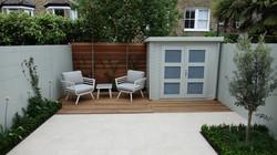 low maintenance minimalist garden design