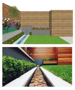 concept garden design delivered for proj