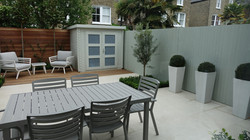 soft modern garden design chelsea fulham