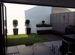 putney modern garden design designer small compact family garden
