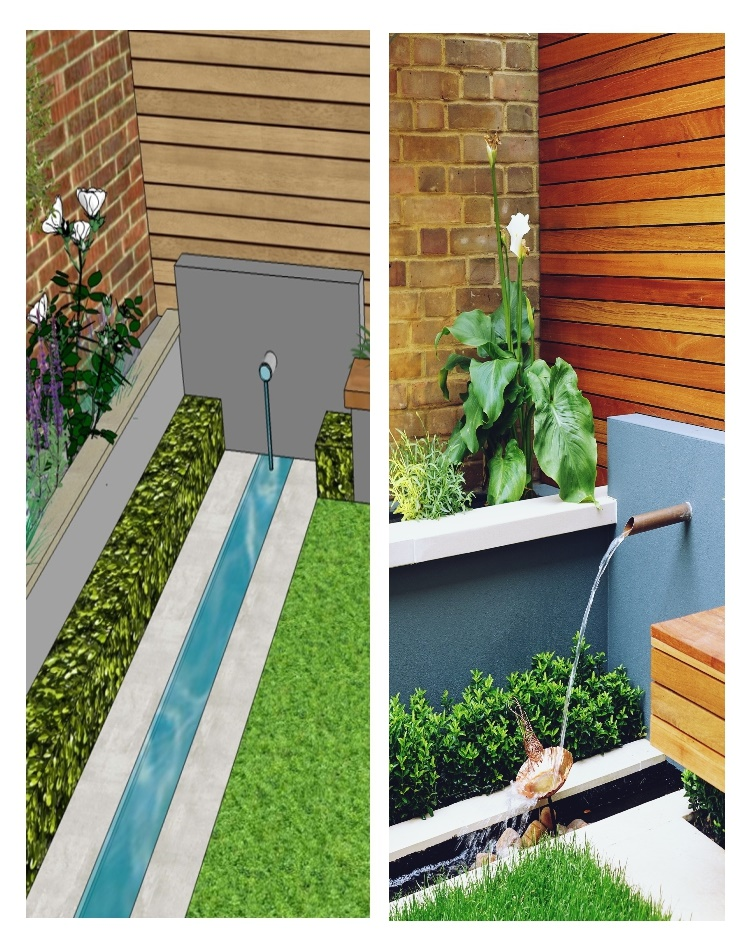 modern garden concept design delivered i
