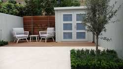 modern garden design ideas london