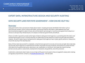 CodeCenters Government Auditing Solutions