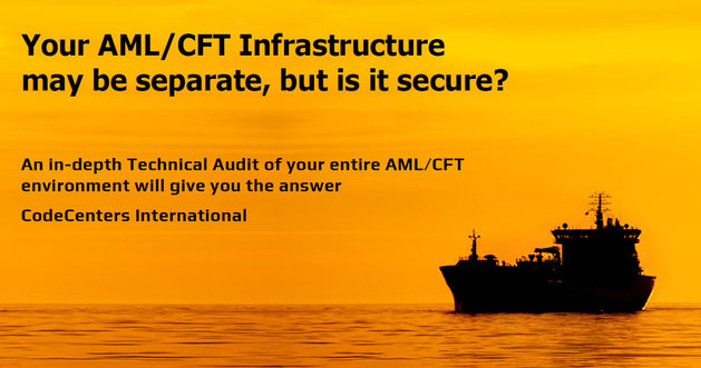 CodeCenters AML aml data audit services.