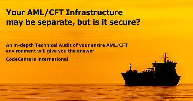 CodeCenters AML aml data audit services.