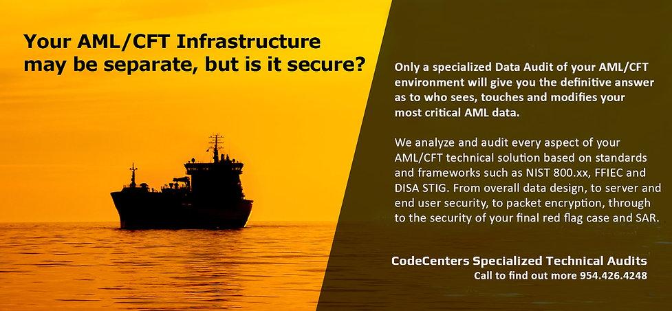 Codecenters aml data and aml database au