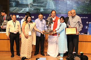 Received national award for swachhta as