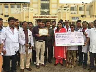 Gomati District Hospital received Nation