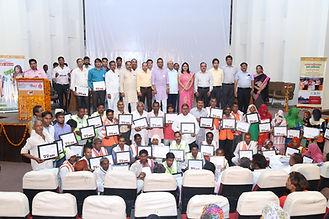 Felicitation of Swachhagrahis.JPG