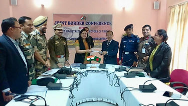 Joint Border Conference with Bangladesh.