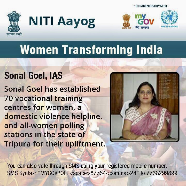 Amongst 25 Women Transforming India