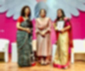 'Outstanding Woman Administrator Award f