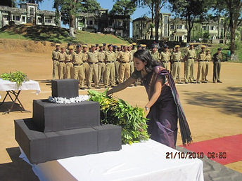 Respecting martyrs soldiers as SDM Ambas
