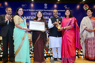 National Award from MWCD GOI for 'Enabli