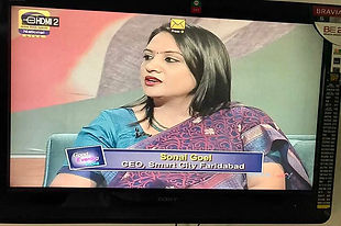 As panelist on DD National as CEO Smart