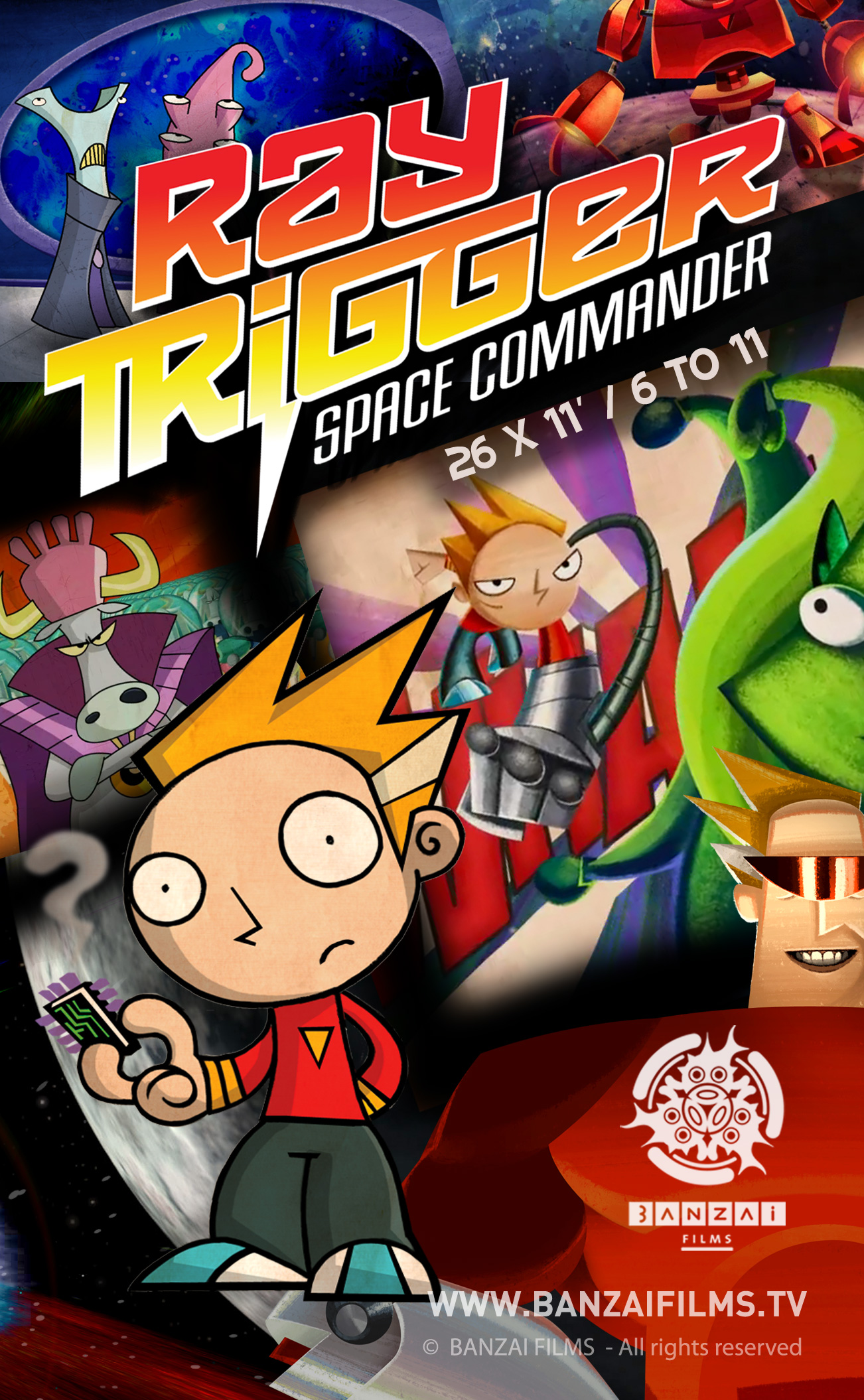 Ray Trigger Space Commander