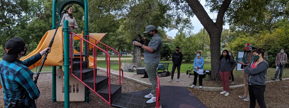 Wyeth Playground Filming PanaComposite_.