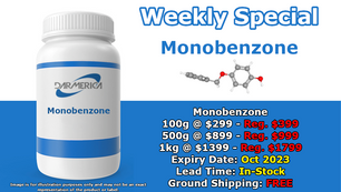 Monobenzone is back in stock! (Click for details)