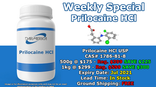 Prilocaine HCl on sale - Are you feeling it? (Click image for details.)