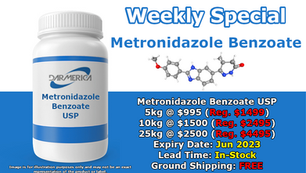 Metronidazole Benzoate Year End Clearout! (Click here)