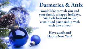 Happy Holidays from Darmerica & Attix!