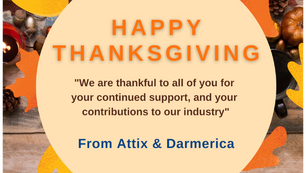 Happy Thanksgiving from Attix & Darmerica
