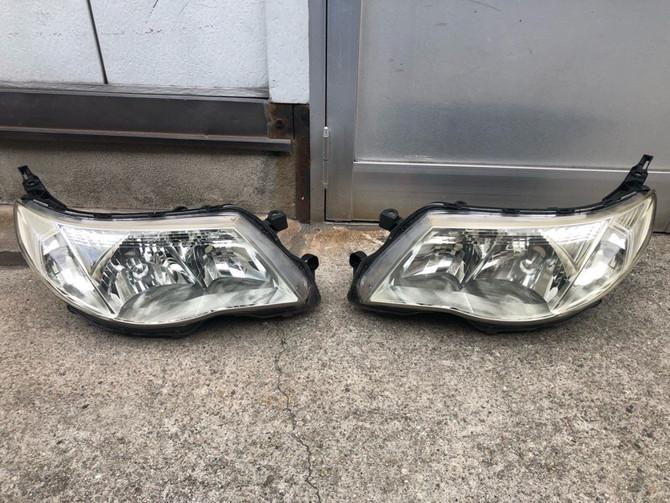 SH5 フォレスター ヘッドライト黄ばみ除去